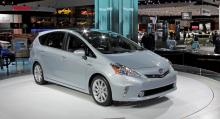 Konceptbilen Toyota Prius V, i Europa blir namnet Prius+.