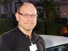 Fredrik Wiss, produktspecialist på Volkswagen Sverige.