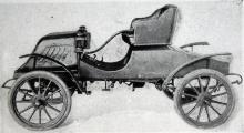 Anfadern Overland hade spakstyrning 1904.