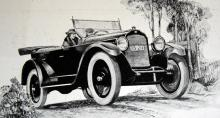 Willys-Knight från 1922 hade förstås slidmotor. Enligt reklamen blev denna tystgående maskin bara bättre ju mer den användes.