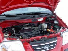 Motorn i nyare Atos är på 58 hk, i äldre 55 hk.