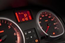 Dacia Dusters färddator visade knappt sju procent fel. Den verkliga förbrukningen var, precis som hos Saab, lägre än de siffror som visades i datordisplayen.