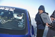 Nytt fartrekord på is – igen