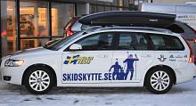 Volvo träffar nya kunder med hjälp av bland andra Svenska skidskytteförbundet.