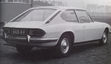 Avart på Triupmh Stag som inspirerat Pininfarina till FF?