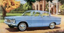 Humber Sceptre fick ny front 1965 men den vann aldrig några skönhetspriser.