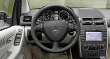 Nuvarande Mercedes A-klass.