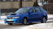 Utgående Subaru Impreza 2.0D Sport.
