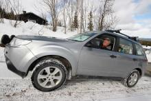 Utan Subarun skulle jag inte ta mig hem, säger Lasse Aronsson i Sälen. Inte många bilar klarar backen upp till mitt hus.