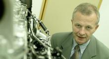 Derek Crabb, projektansvarig på Volvo Powertrain.