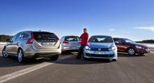 Vi testade i skarpt läge Volvo V60 och VW Golf i både diesel- och bensinutförande. Inte i något av fallen var dieseln det ekonomiskt vettigaste alternativet för normalbilisten.