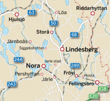 Karta: Bergslagen
