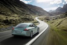 Porsche Panamera Diesel.