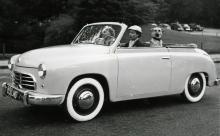 Ariette i cabriolet-utförande byggdes i några få exemplar i början av 50-talet. Inte heller den täckta modellen blev någon storsäljare. Knappt 200 sådana byggdes.