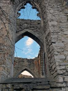 De gamla kyrkoruinerna i Visby används sommartid för konserter.