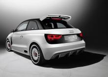 Audi A1 clubsport quattro.