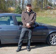 Niclas Åslund i Söderbärke tillhör de BMW-ägare vars bil drabbats av frusen vevhusventilation.