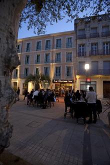 Restaruang Le Chameau Ivre i Béziers är populär.