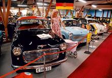 Ett motormuseum lite utöver det vanliga.