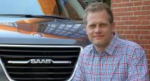 Mikael Jacobsson, produktchef Saab 9-4X.