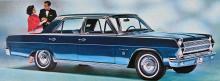 Rambler Ambassador 990 Four-Door Sedan 1965. Ny storlek och spektakulär V8.