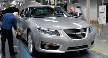 Saab hoppas kunna återuppta tillverkningen inom 14 dagar.