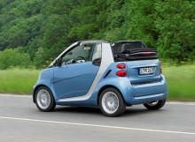 Smart Fortwo micro hybrid Cabriolet.