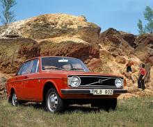 Volvo 140 - etta på försäljningslistan 1973.