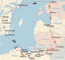 Karta: Baltikum