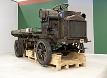 Den amerikanska militärlastbilen FWD är från 1917 och ett unikt exemplar i Sverige.