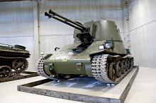 Den svenska Luftvärnskanonvagnen tillverkades i 16 exemplar – ett finns nu i Strängnäs. Vagnarna tillverkades på 40- och 50-talet.