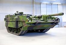 Modell S är ett omdiskuterat fordon som kritiserats men också utsetts till en av de bästa stridsvagnarna i världen. Numera bara på museum.