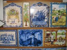 Kakel är portugisernas arv efter morerna. Fantasifulla motiv och kakelklädda husfasader (ovan) dyker upp var än man bilar i Portugal.