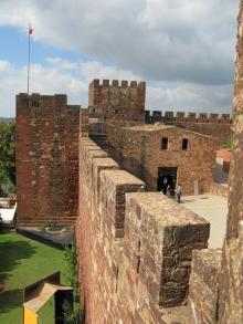 I morernas gamla huvudstad Silves är borgen ett givet utflyktsmål.