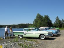 Pontiac Star Chief -58 och andra dyrgripar kan beskådas vid Riddarhyttans marknad första helgen i juli.