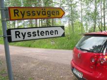 Ryssvägen från Köping