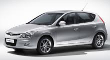 Utgående Hyundai i30.