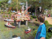 Legoland var från början en nöjespark där man kunde låta sig imponeras av alla fantastiska lego-modeller av städer och platser i Norden. Så är det fortfarande.
