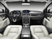 Logiskt och propert. Förarplatsen i de nya Volvo-modellerna håller hög klass.
