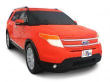 Ford Explorer i Lego.