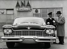 ANA i Nyköping importerade ett fåtal Imperial. 57:an på bilden har privatchaufför.