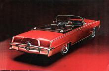 En Imperial med Continental kit av fusktyp! Årsmodellen är 1964.Torsionsfjädring fram, blad- fjädrar bak och erkänt  fina vägegen- skaper.