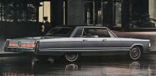 Imperial LeBaron i 1967 års utförande. Bara 2200 tillverkades, mot drygt 15000 av de billigare Imperial och Imperial Crown-serierna.