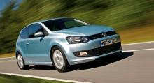 VW Polo får höga poäng och rankas tvåa.