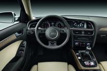 Audi A4, interiör.