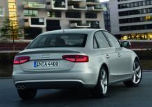Audi A4 sedan.