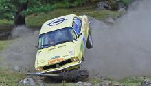 9:e pris: Ove Pettersson. Vi gissar att fotografen tog många exponeringar den där dagen i Almunge. Det blev bästa rallybilden det här året.