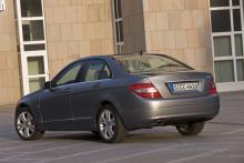 Mercedes C220 CDI Blue Efficiency.