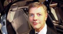 Conny Ewe Blommé, ansvarig för inredningen i Volvo Concept You.