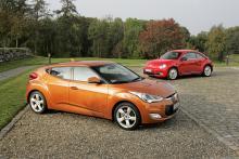 Formsaker: Hyundai Veloster, Volkswagen Beetle